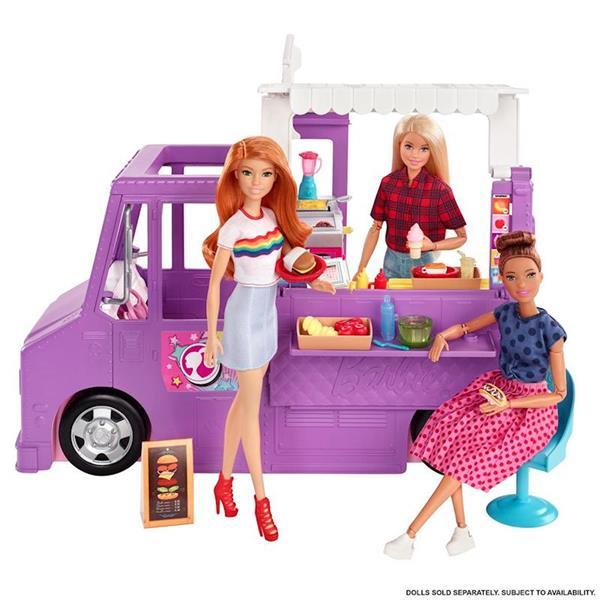 Imagen de Barbie Camión Food Truck