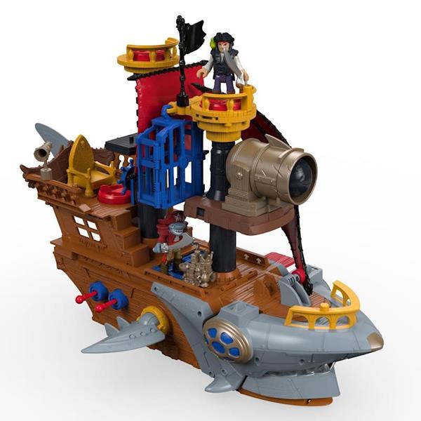 Imagen de Barco Pirata Tiburón fisher Price