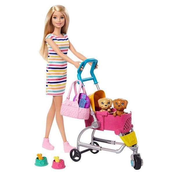 Imagen de Barbie y su Carro de Perritos