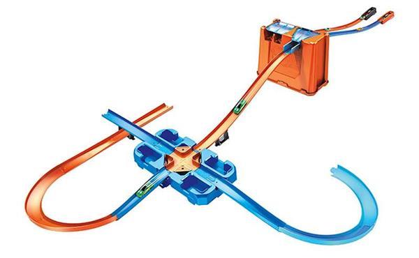 Imagen de Pista Acrobacias Deluxe Stunt Box de Hot Wheels