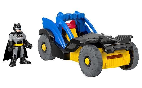 Imagen de Vehículo y Muñeco de Batman