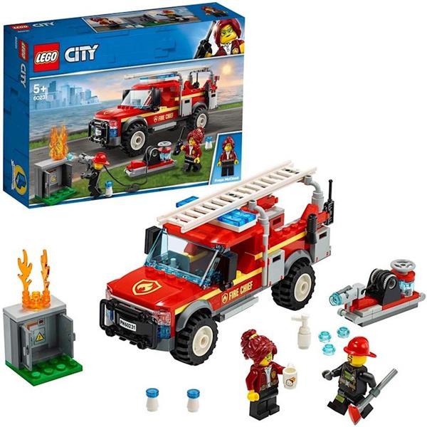 Imagen de Lego City Camión de Intervención Jefa de Bomberos