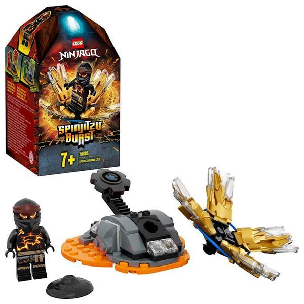 Imagen de Lego Ninjago Spinjitzu Explosivo: Cole