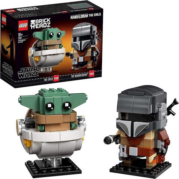 Imagen de Lego Star Wars Mandaloriano y el Niño