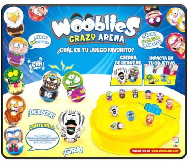 Imagen de Wooblies Arena De Combate Serie 1