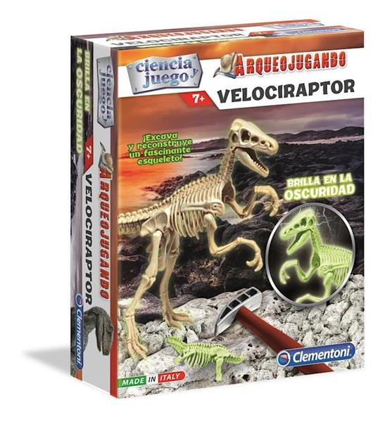 Imagen de Arqueojugando Velociraptor Fluorescente