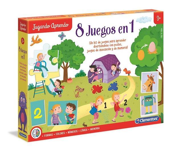 Imagen de Juego Educativo Aprendo Juegos 8 en 1