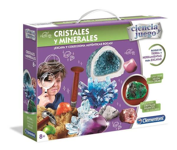 Imagen de Cristales Y Minerales Clementoni