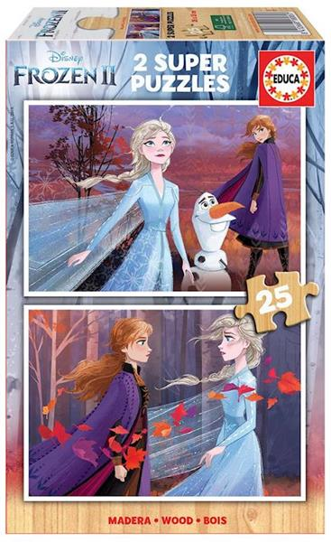 Imagen de Puzzles 2x25 Frozen 2