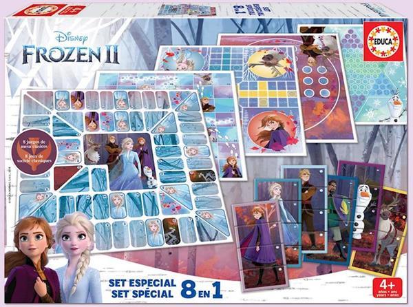 Imagen de Juegos de Frozen 8 En 1 De Educa