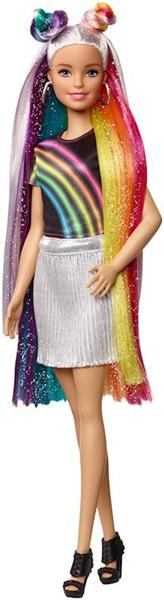 Imagen de Barbie Pelo Extralargo Arcoiris