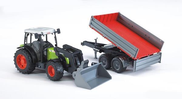 Imagen de Tractor Claas Nectis 267F con Remolque y Pala