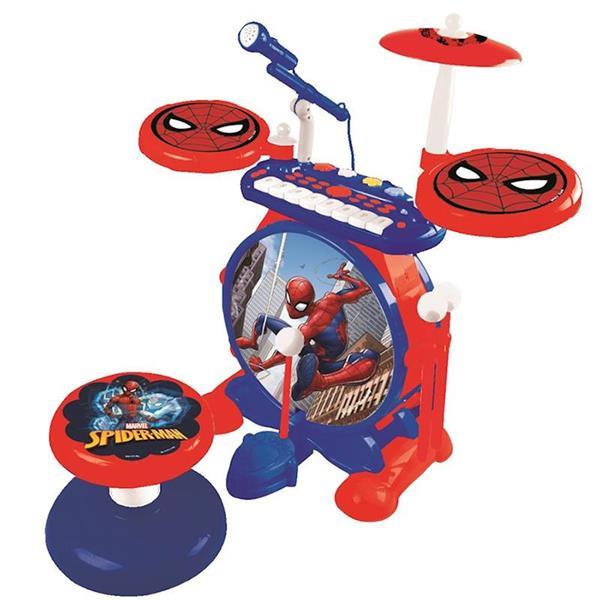 Imagen de Batería Eléctrica Con Órgano de Spiderman