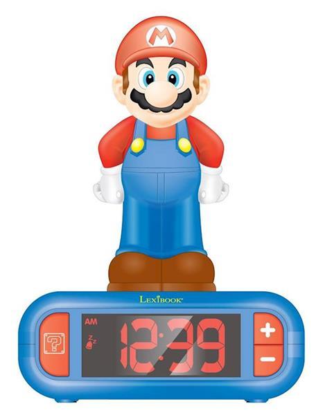 Imagen de Despertador Digital Super Mario con Radio y Luz 3D