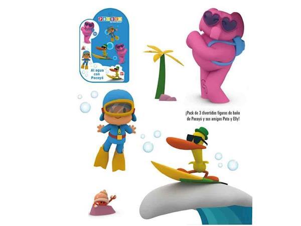 Imagen de Figuras de Baño al Agua con Pocoyo
