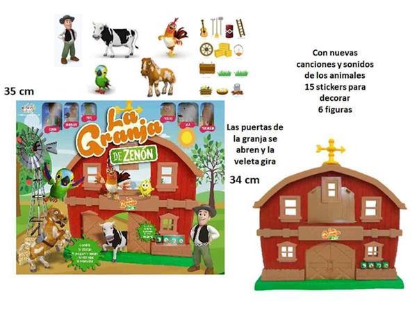Imagen de La Granja de Zenón con 6 Muñecos
