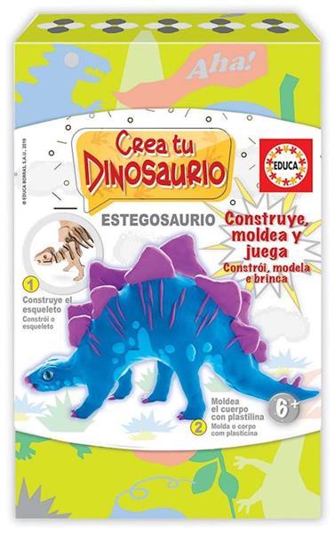Imagen de Crea Y Moldea Tu Stegosaurio