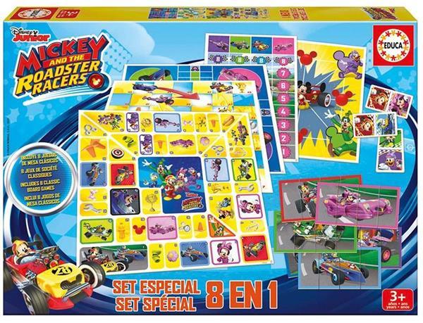 Imagen de Multijuegos 8 En 1 Mickey And The Roadster Racers