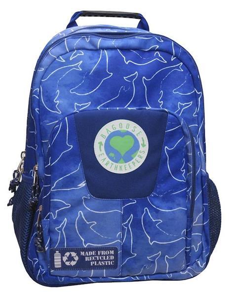 Imagen de Mochila Adaptable a Trolley Earth Leaves Azul