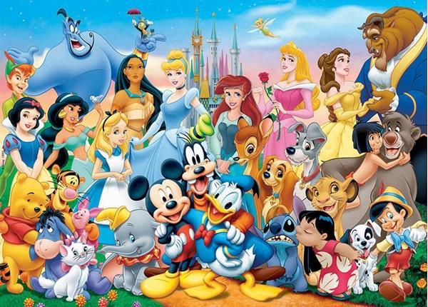 Imagen de Puzzle 100 Piezas Maravilloso Mundo Disney