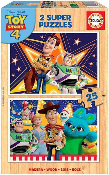 Imagen de Puzzles Toy Story 4 2x25 Piezas