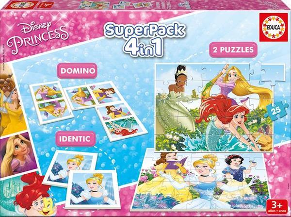 Imagen de Superpack 4 en 1 Princesas Disney