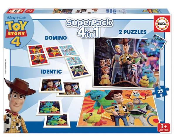 Imagen de Superpack Toy Story 4 En 1