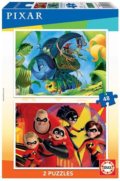 Imagen de Puzzles Pixar 2x48 Piezas
