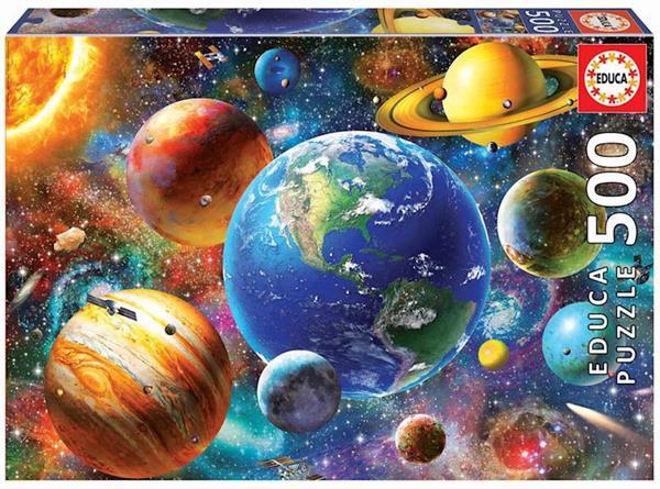 Imagen de Puzzle 500 Piezas Sistema Solar