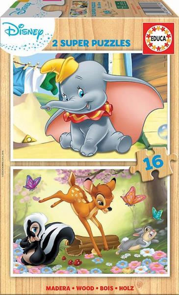 Imagen de Puzzles Educa Dumbo Y Bambi 2x16