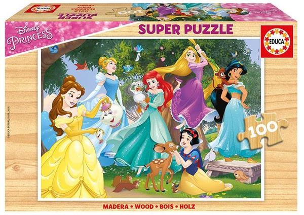 Imagen de Puzzle 100 Piezas Disney Princess