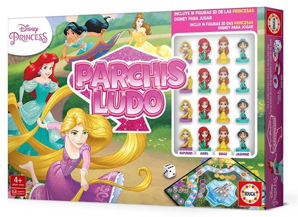 Imagen de Juego Parchis Princesas 3D Disney