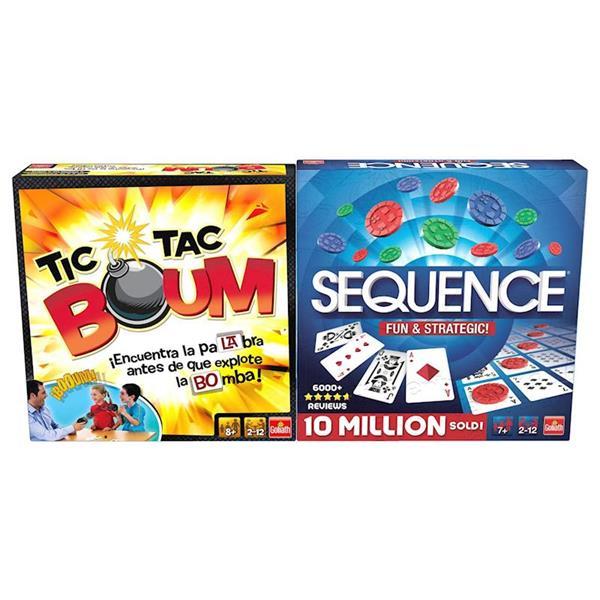 Imagen de Pack Juegos Tic Tac Boum Y Sequence