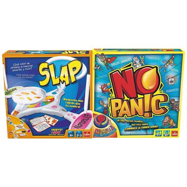Imagen de Pack Juegos de Mesa Slap Y No Panic