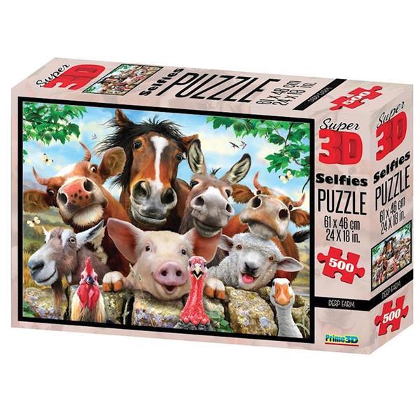 Imagen de Puzzle Adulto3D 500 Piezas