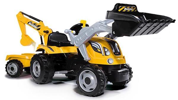 Imagen de Tractor Pedales Builder Max