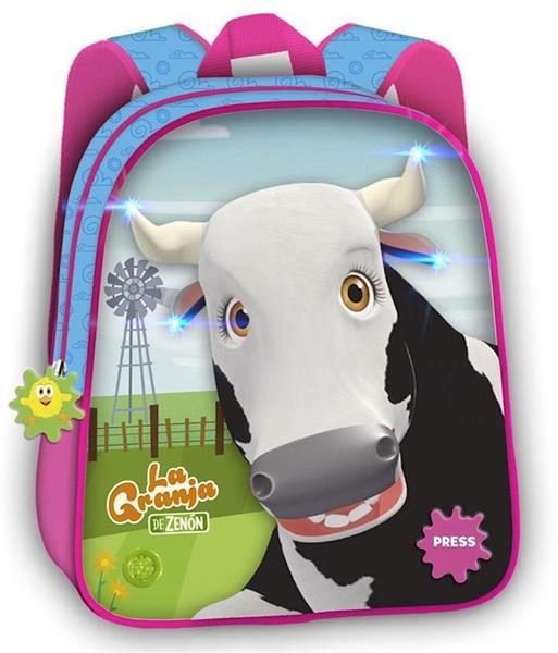 Imagen de Mochila Infantil Vaca Lola de La Granja de Zenon