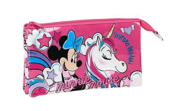 Imagen de Estuche Triple Minnie Mouse Unicornio