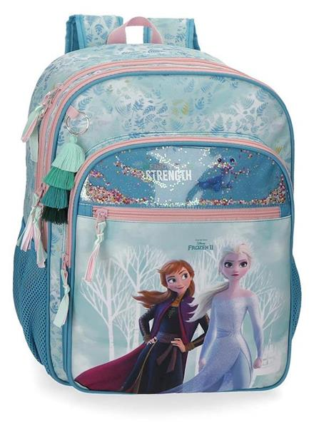Imagen de Mochila Adaptable a Carro Frozen Find Your Strenght