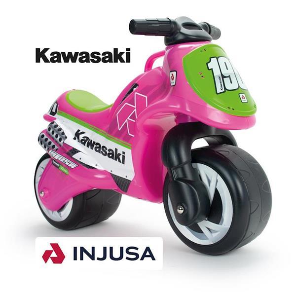 Imagen de Correpasillos Moto Neox Kawasaki Rosa