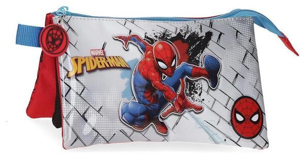 Imagen de Estuche Triple Spiderman Red