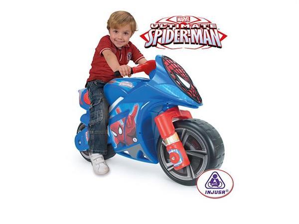 Imagen de Correpasillos Moto Spider-man