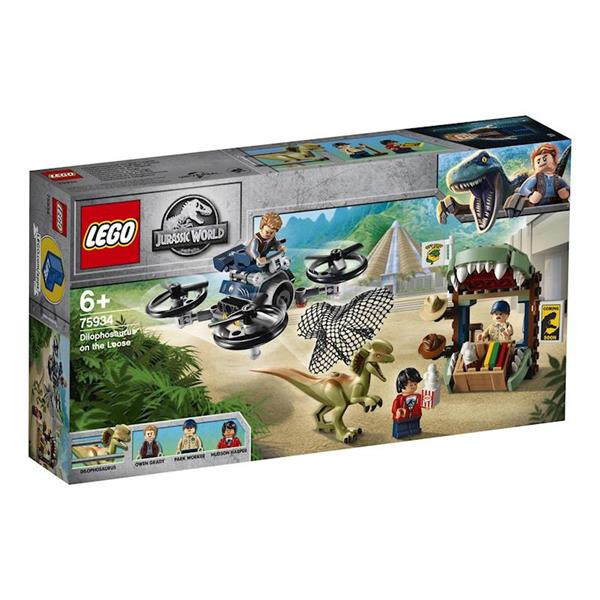 Imagen de Lego Jurassic World Dilofosaurio