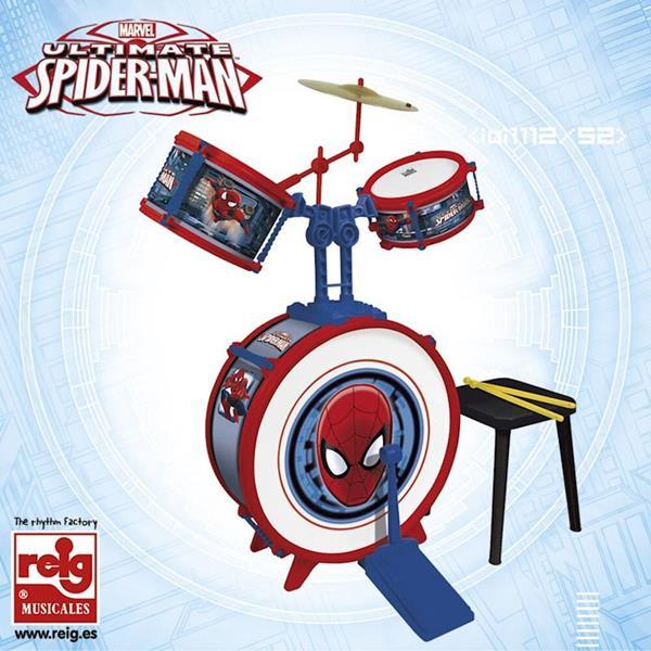 Imagen de Batería de Spiderman con 3 Elementos