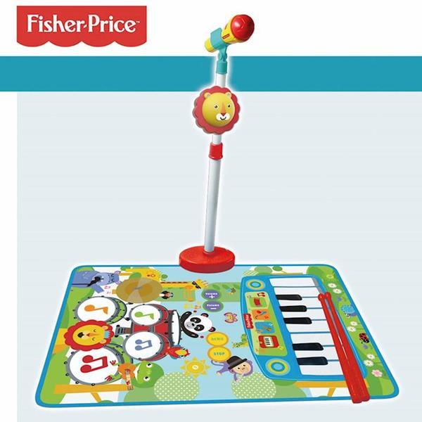 Imagen de Alfombra Musical de Fisher Price 3 en 1