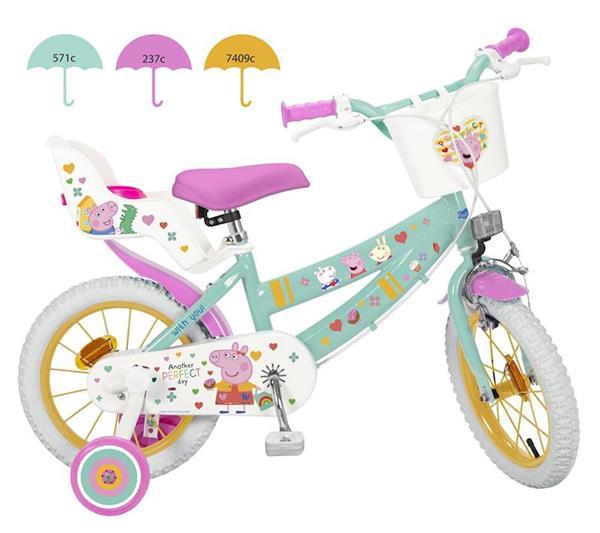 """Imagen de Bicicleta 16"""" Peppa Pig de 5 a 8 Años"""