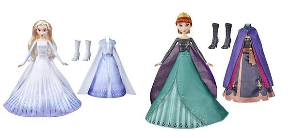 Imagen de Muñeca Frozen 2 Transformable Elsa Y Ana