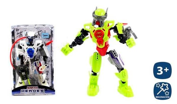 Imagen de Robot Articulado Earth Hero