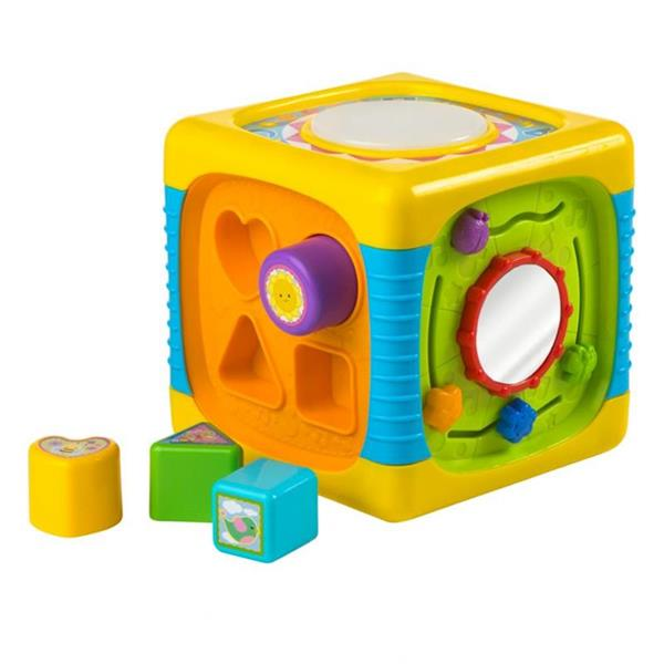 Imagen de Cubo Actividades Bebé Con Luces Y Sonidos