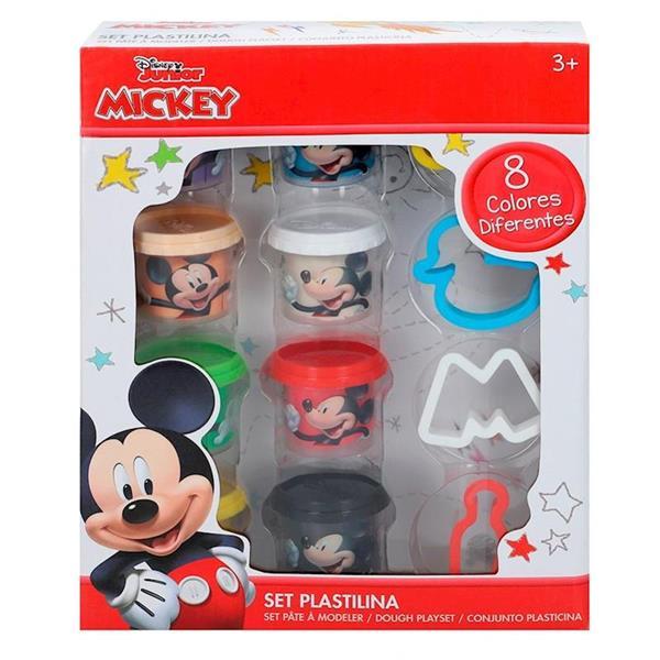 Imagen de Pack 8 Botes Plastilina Mickey